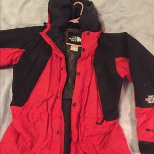 North face gore Tex jacket